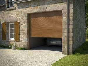 porte de garage enroulable excelis 77 cote fenetres With porte de garage enroulable et porte interieur laque blanc