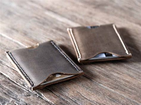 Men's Leather Card Holder Wallet Business Card Display Stand South Africa Design Own Online Architect Psd Free Download Etiquette In America Holders For Desk Canada And Order The Wall Office Works