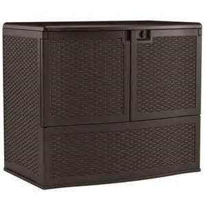 suncast 195 gal backyard oasis vertical deck box