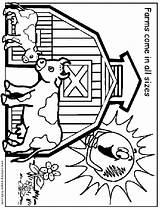 Coloring Farm Pages Printable Fair Print County Fun Sheets Animals Animal Sheet Farms Jobs Preschool Tractor Theme Waupaca Links Contact sketch template