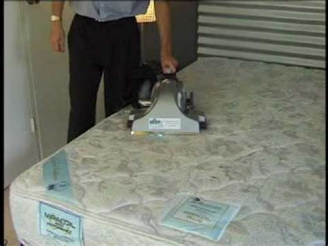 AllerX mattress sanitizing system bright idea! - YouTube