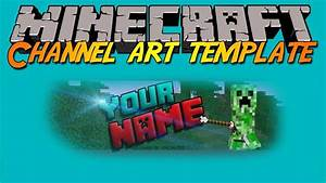 Minecraft Youtube Channel Art Maker The Logo Creator