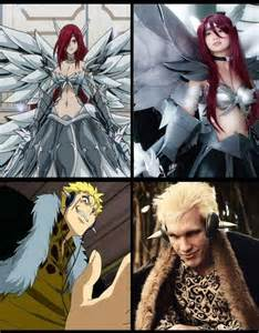 Fairy Tail Laxus Cosplay