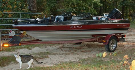 Quantum Bass Boat Seats by 14 Foot Bayliner 50 Hp 26mph Added Picts Page 1