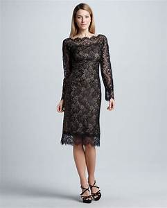 tadashi shoji long sleeve lace cocktail dress dresscab With long sleeve cocktail dress for wedding