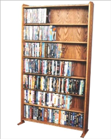Vhs Dvd Storage Rack