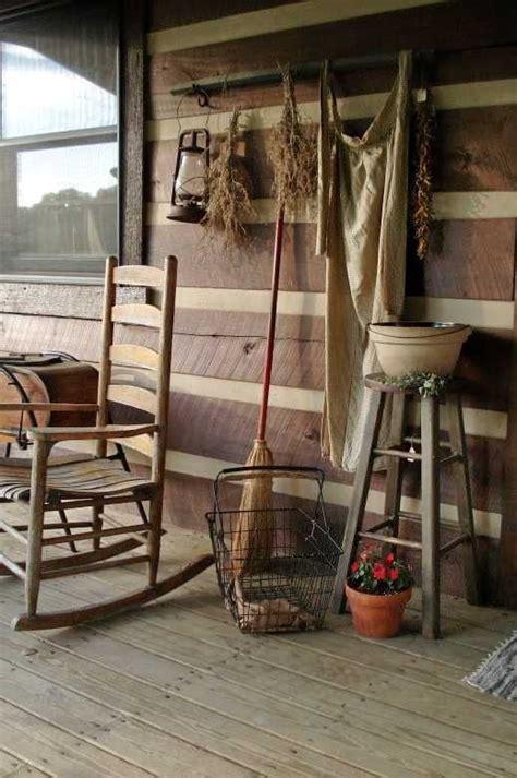 Best Images About Primitive Porch Outdoor Vignettes