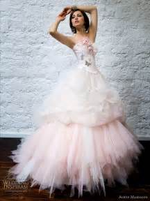 pink wedding gowns pretty in pink wedding dresses publish with glogster