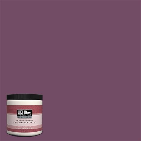 behr premium plus ultra 8 oz 690d 7 radicchio interior