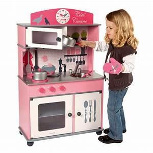Cuisine En Bois Enfant Pas Cher : cuisine cot cuisine janod la f e du jouet ~ Teatrodelosmanantiales.com Idées de Décoration