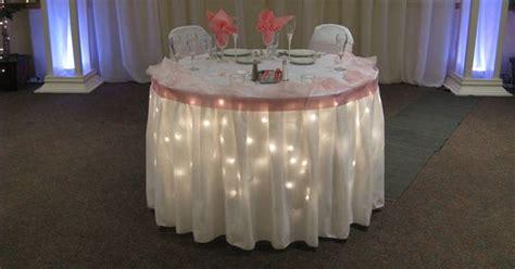 white christmas lights   table cloththe