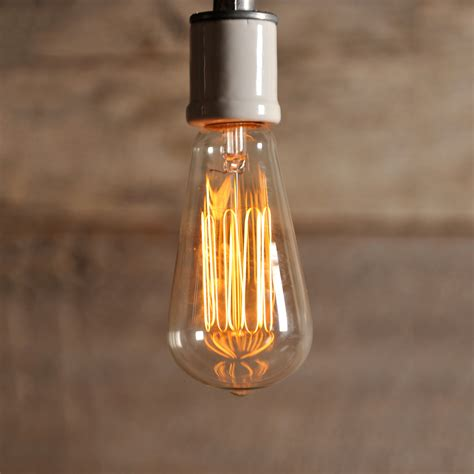vintage style edison light bulb southern lights electric