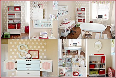 Craft Room Makeover  Workstation  The 36th Avenue