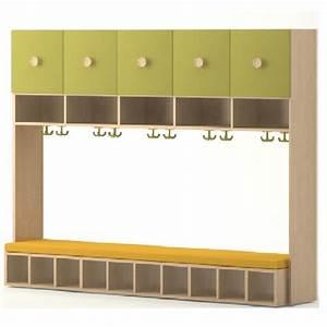 meuble vestiaire meuble bas mtallique beautiful armoire With superior banc entree meuble chaussure 12 meuble dentree bois metal banc vestaire de style