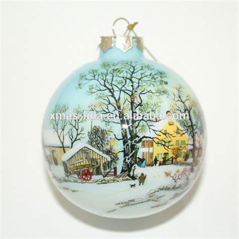 12 best photos of painted glass christmas ornaments hand