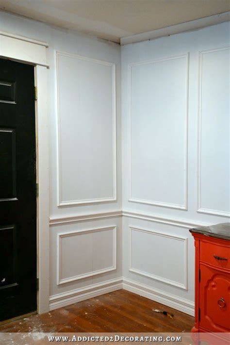 Wainscoting Frames For Wall by How To Install Picture Frame Molding Design Inspiration