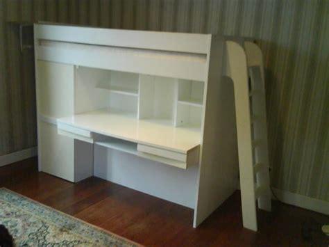 lit surélevé bureau lit hauteur avec bureau images