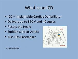 Difference between a pacemaker and an icd presentation