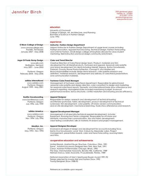 Buyer Resume by Junior Fashion Buyer Resume Skills Search