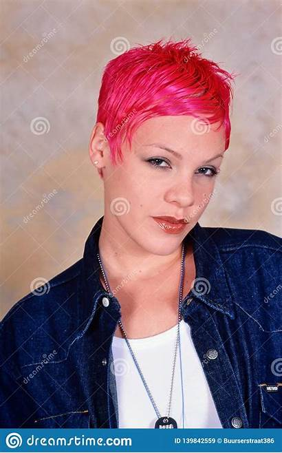 Singer Pink Female Photoshoot Entertainment London Dreamstime