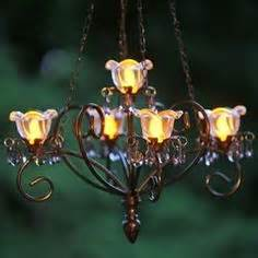 19 99 white mini led battery operated gazebo chandelier