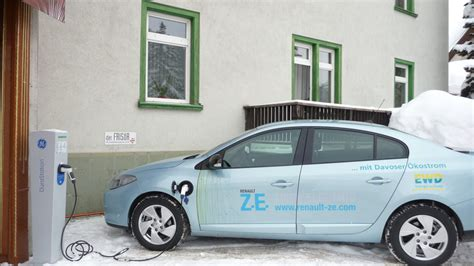 charge  renault fluence ze  alliance