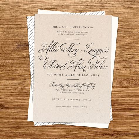 wedding envelopes rustic wedding invitations ipunya