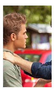 Stefan Salvatore Damon Salvatore In Blur Green Background ...