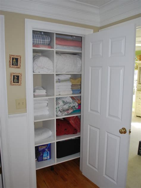 linen closet organization ideas advices for