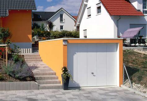 Garage Im Hang by Optimale L 246 Sungen F 252 R Garagen In Hanglage Garagen Welt