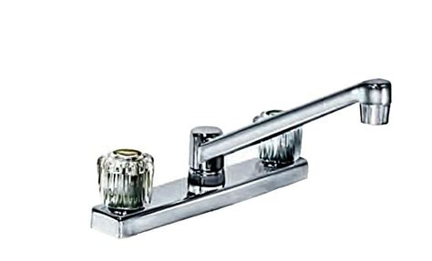 8-inch Two-handle Chrome Polished Kitchen Faucet By Aqua
