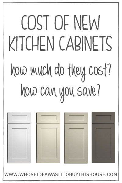 how much do new kitchen cabinets cost curious about how much new kitchen cabinets cost find out 9265
