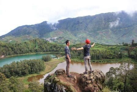 obyek wisata dieng tempat wisata indonesia