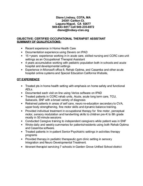 best therapist resume exle livecareer pediatric