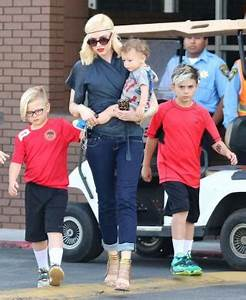 Gwen Stefani and Gavin Rossdale's sons Kingston, Zuma and ...