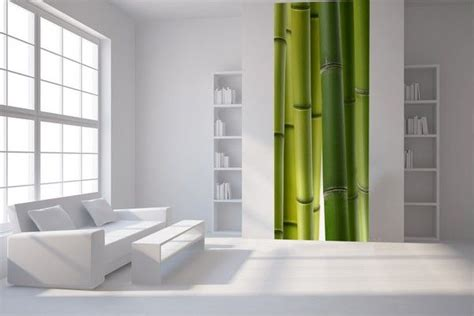 papier peint l 233 unique bambou vert lgd01