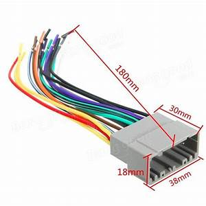 Car Radio Stereo Female Wiring Harness Cable Plug For