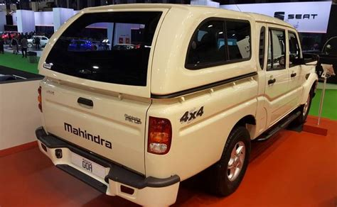 chrome jeep accessories new mahindra scorpio pickup showcased in spain no plans
