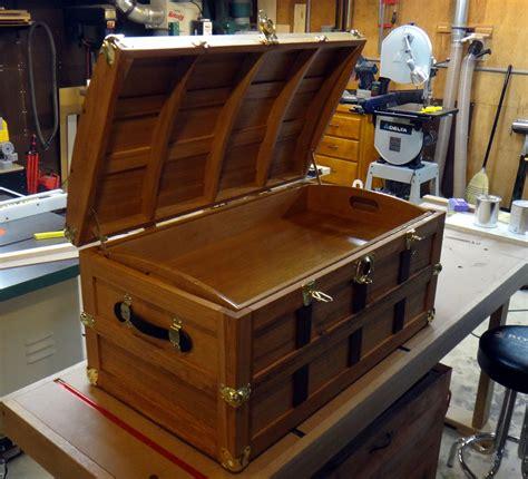 steamer trunk plans wood  woodworking