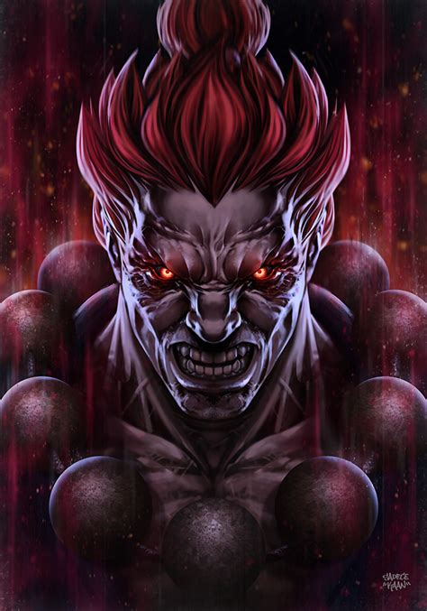 Akuma On Streetfightergroup Deviantart
