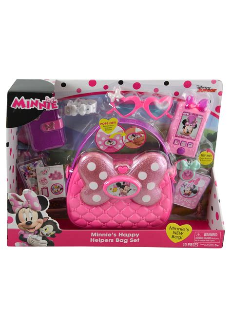 minnie mouse minnies happy helpers bag set