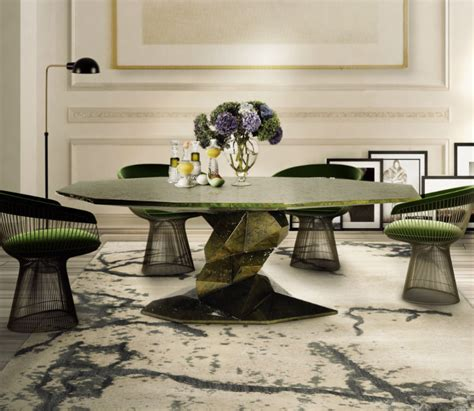 place  rug    dining table   place
