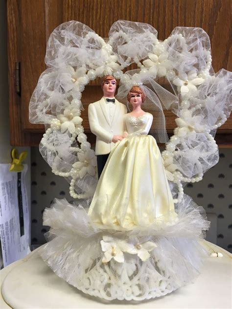 vintage wedding cake toppers images  pinterest