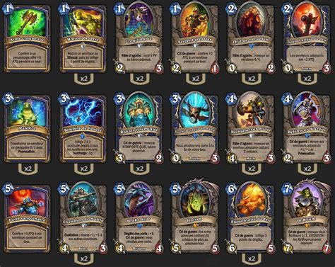 Shaman Deck Tgt by Deck Chaman Banana Tgt Hearthstone Heroes Of Warcraft