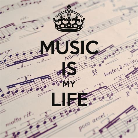 Music Is My Life Quotes Quotesgram