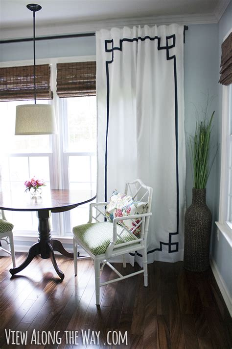 diy no sew key curtain panels