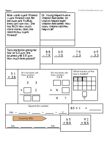 3rd grade math review geotwitter kids activities