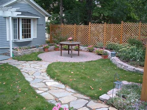 gardening landscaping how to lay flagstone patio with