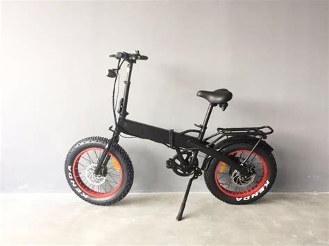 Small Electric Bicycle Fat Tire Ebikes Folding E Bike