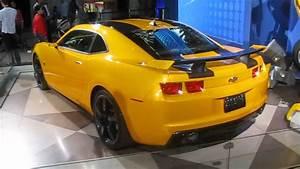 New York Auto Show 2011  Chevrolet Camaro Bumblebee
